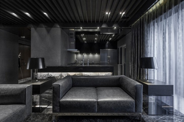 All-Black-Apartment-01-730x487