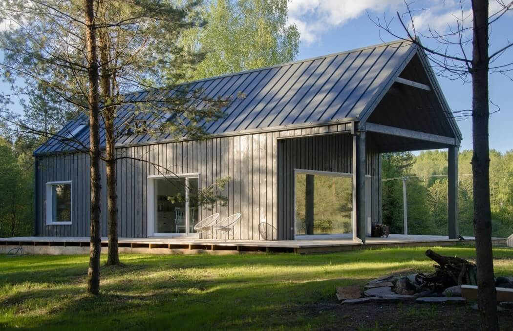 Lithuanian Cottage By Devyni Architektai Archiscene