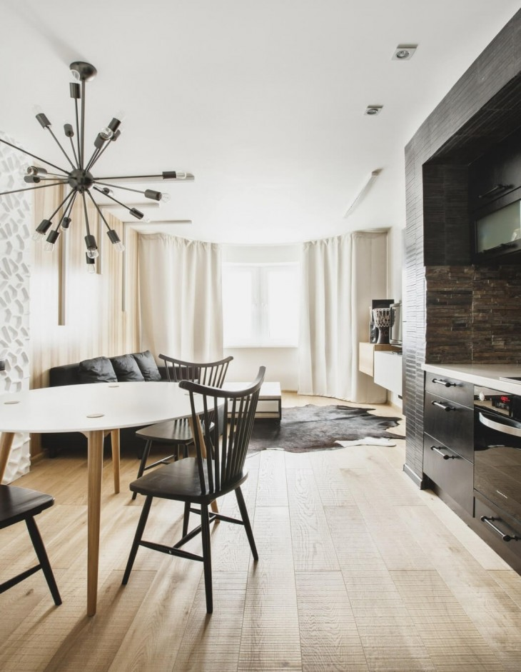 Moscow Apartment by SHKAF  (1)