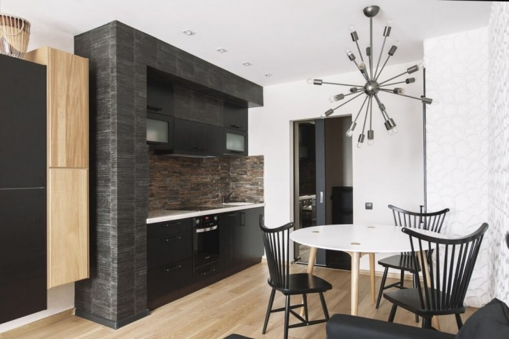 Moscow Apartment by SHKAF Architects