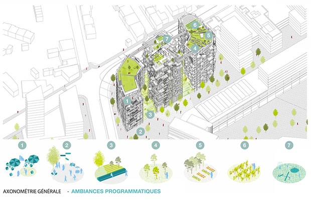 Competition Canopia By Sou Fujimoto Architects And Laisn 233