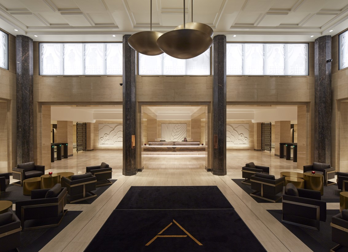 the brand new adelphi - london's art deco icon - archiscene - your