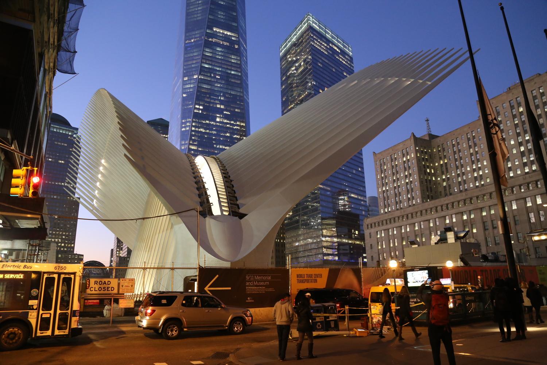 World Trade Center Transportation Hub By Santiago