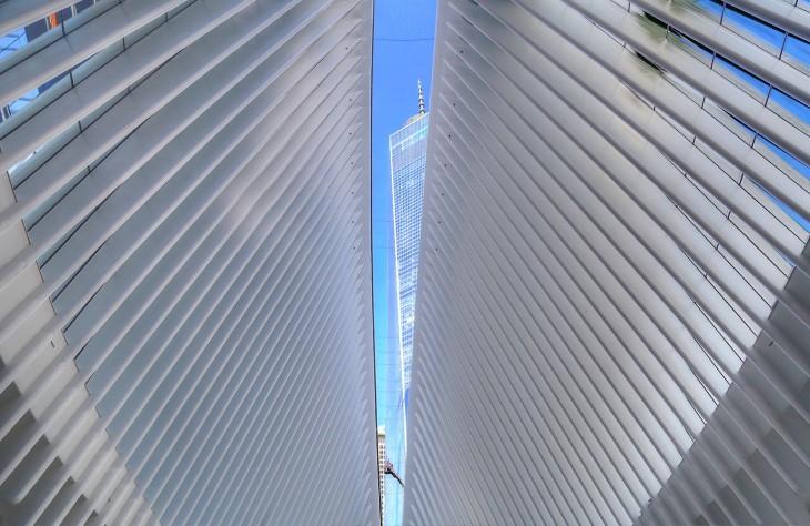 World Trade Center Transportation Hub by santiago calatrava
