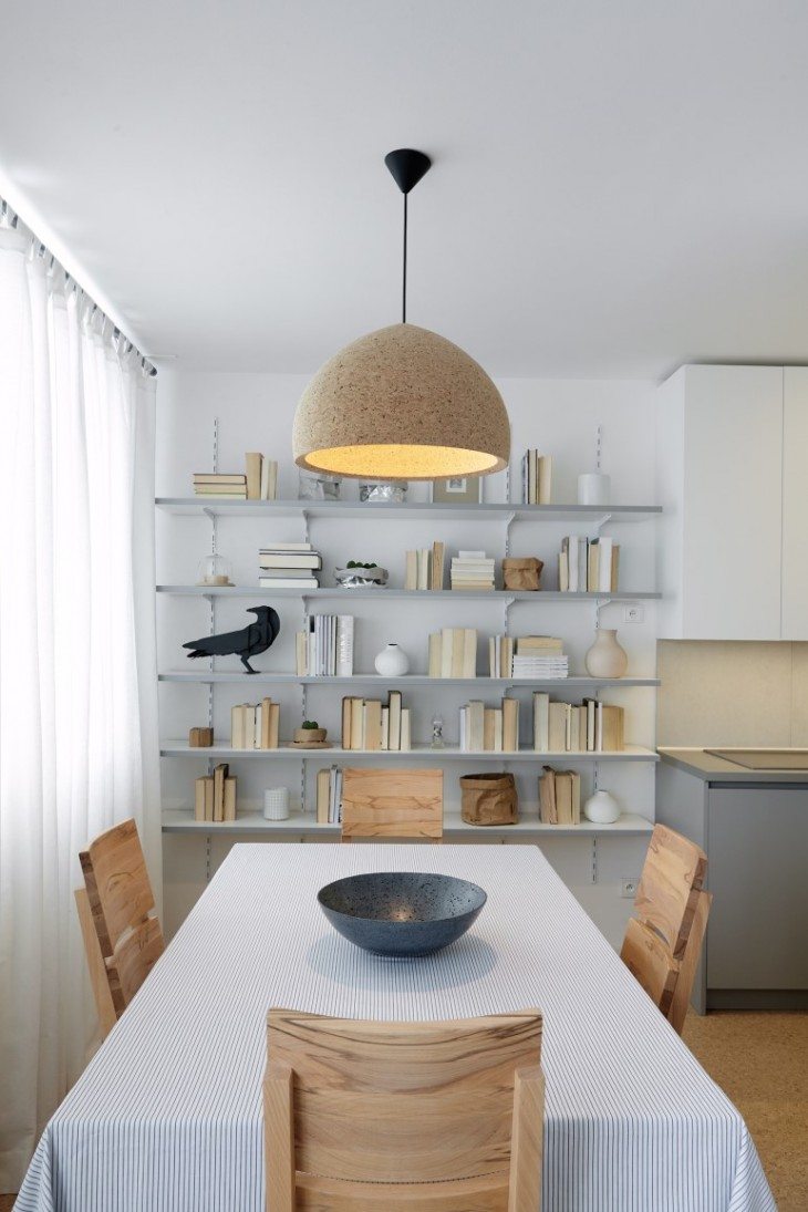 cork apartment in prague by formafatal architects