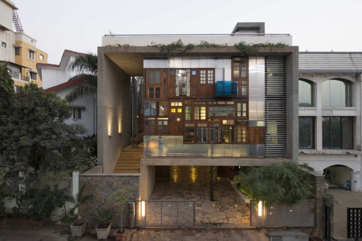 Collage House by  S+PS Architects
