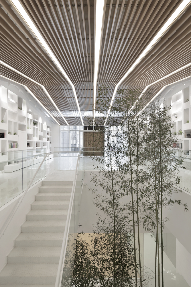 Modern Classroom Structure ~ Poly wedo education institution by archstudio archiscene