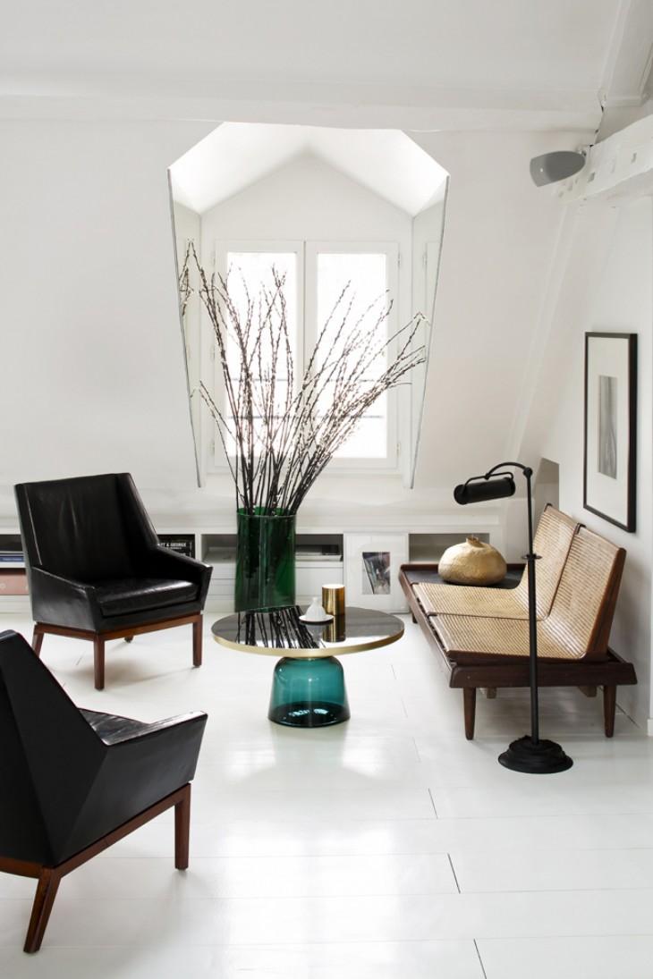 apartment in paris by maison sarah lavoine archiscene your daily architecture design update. Black Bedroom Furniture Sets. Home Design Ideas