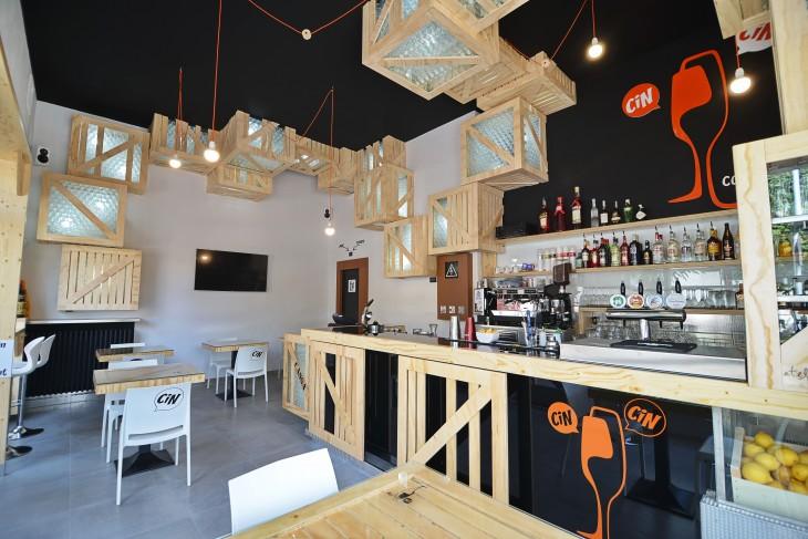 Cin Cin Cocktail Bar by Atelier Qbe3