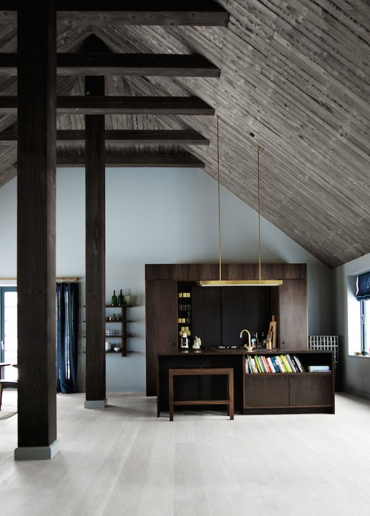 Modern danish barn house archiscene your daily for Modern barn home interiors