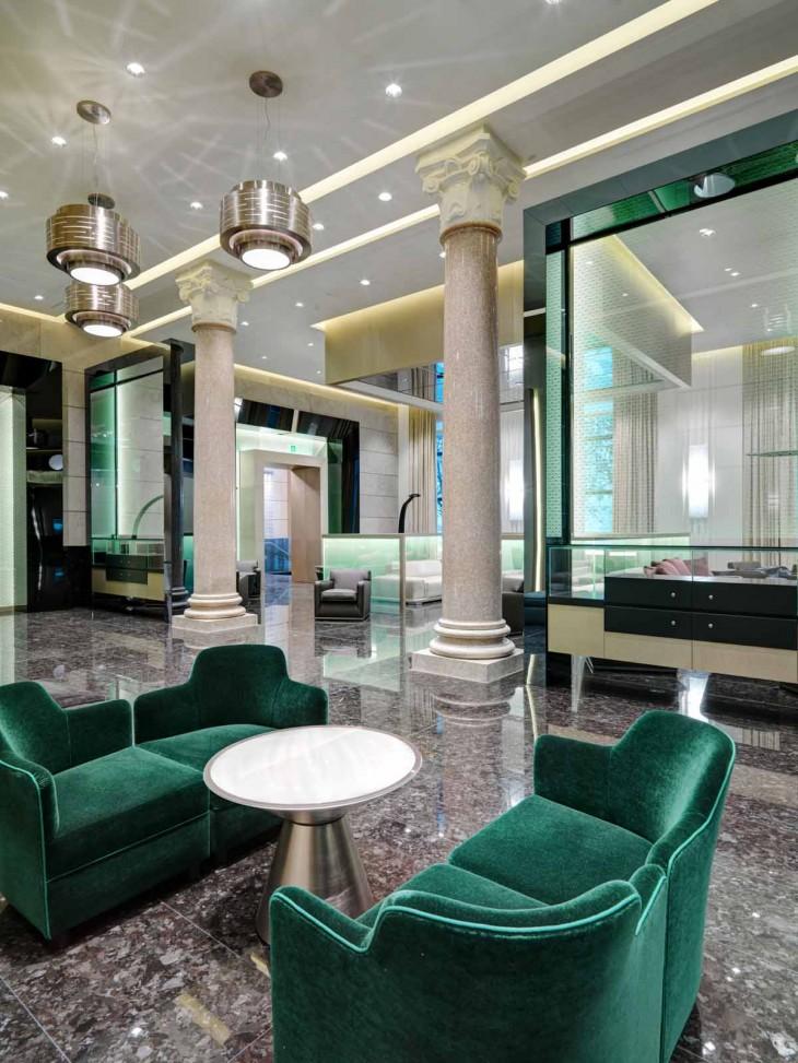 Excelsior Hotel Gallia By Studio Marco Piva Archiscene