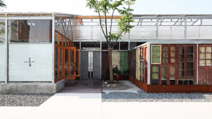 Studio moa by atelier gom archiscene your daily architecture design update - Moa architectuur ...