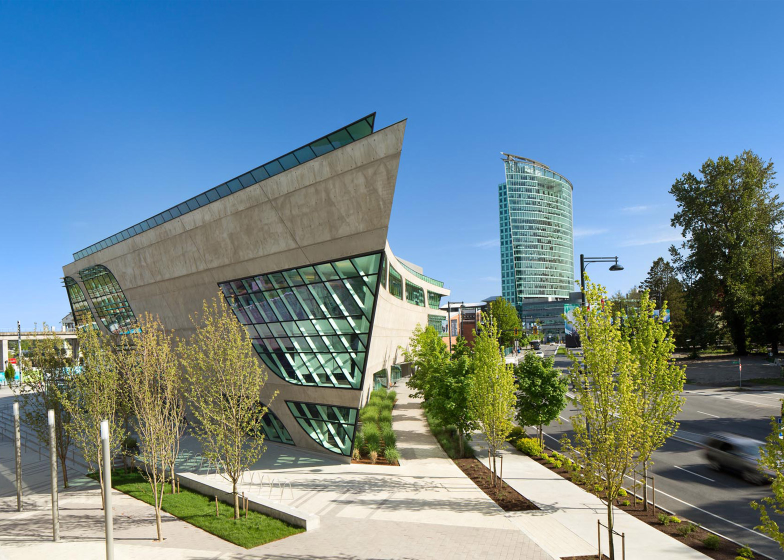Surrey City Centre Library By Bing Thom Architects
