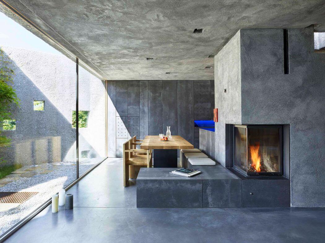 concrete housewespi de meuron romeo architects - archiscene