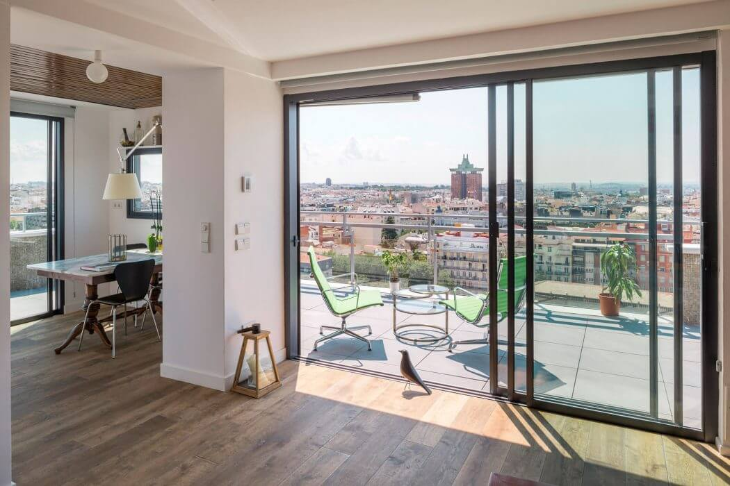 Chalet Nursery And Garden Center: Madrid Penthouse By I! Arquitectura