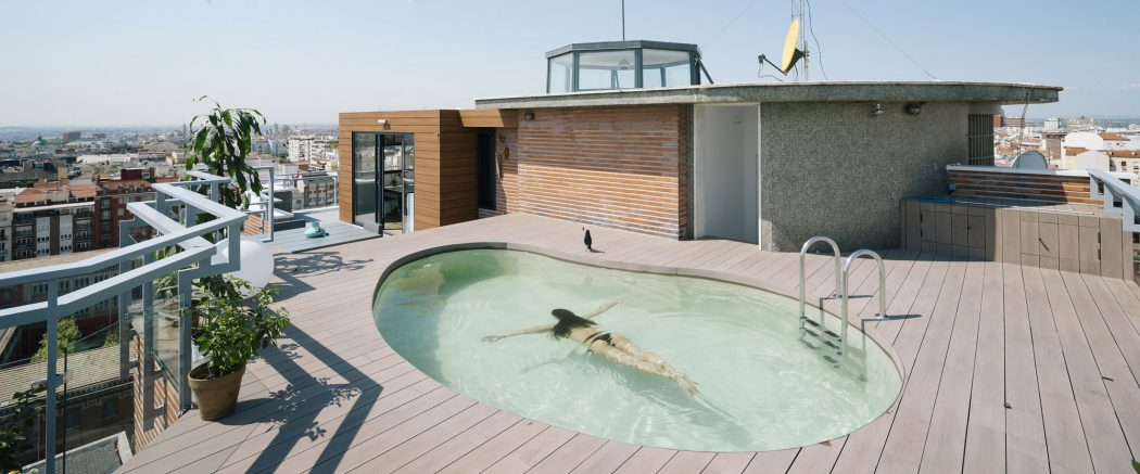 Madrid penthouse by i arquitectura archiscene your daily architecture design update - Garden center madrid ...