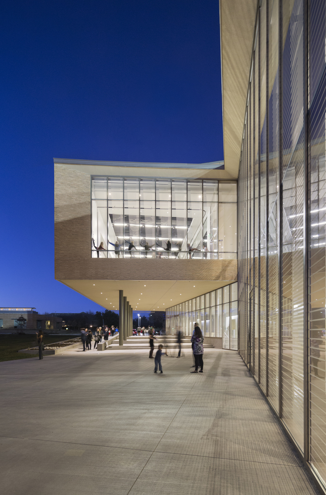 Center For Collaborative Classroom ~ The marshall family performing arts center by weiss