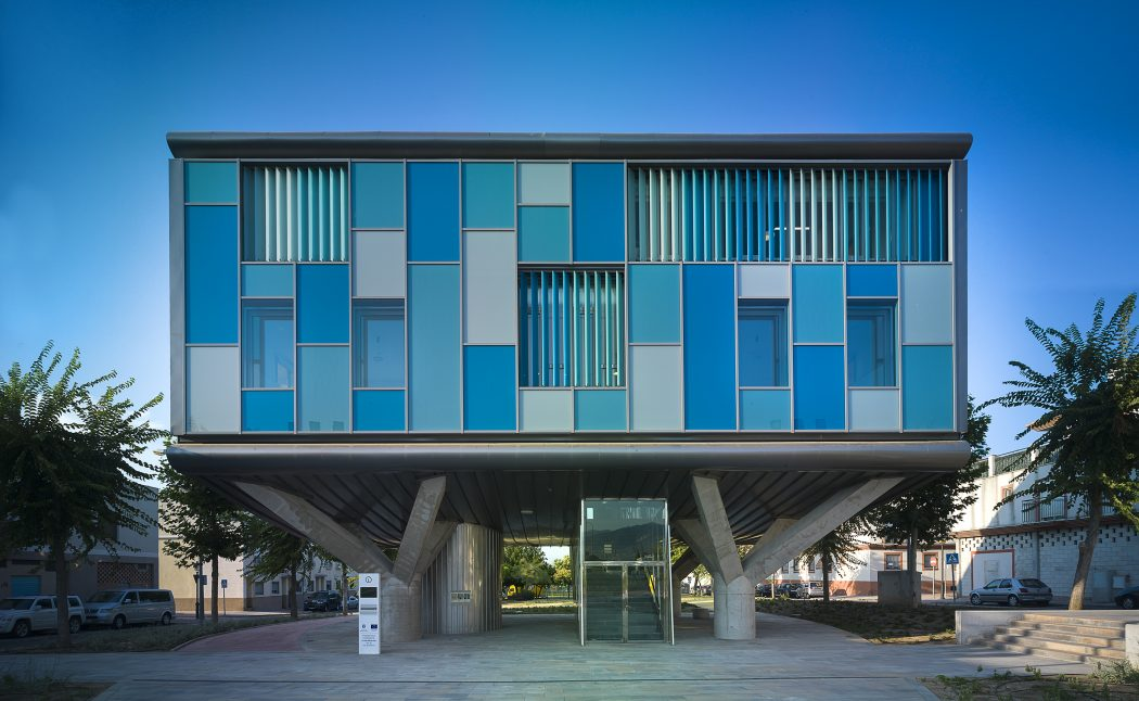 Csi idea by ezar arquitectura y dise o archiscene your for Hotel diseno malaga