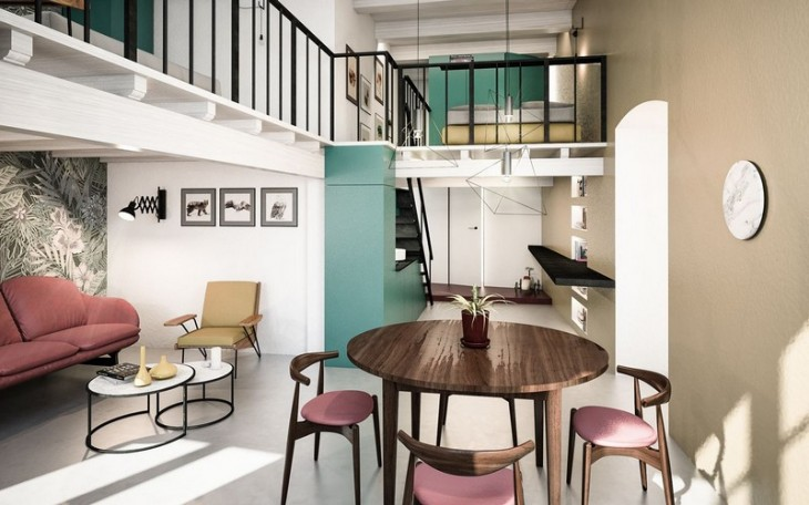 Cobalt Apartment by Mauro and Matteo (10)