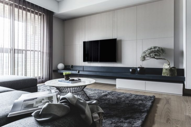 Contemporary Apartment by Taipei Base Design Center