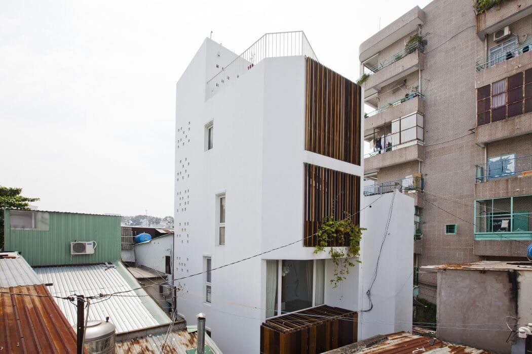 Micro Town House By Mm Architects Archiscene Your