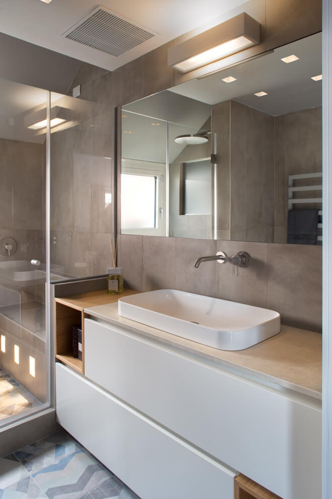Milan apartment by andrea castrignano archiscene your - Andrea castrignano bagno ...