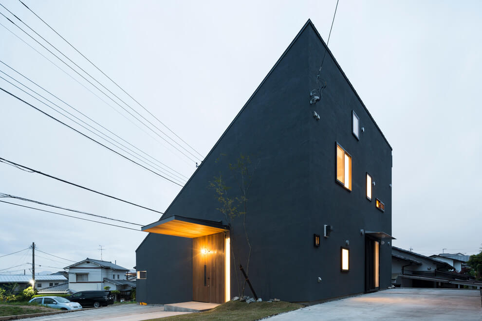 Minimalist House By Tukurito Architects Archiscene