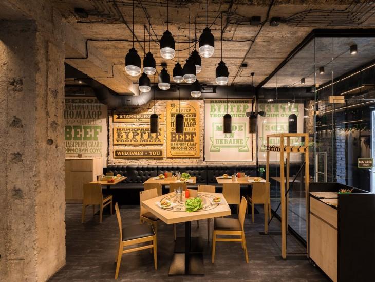 Star Burger by Sergey Makhno Architects
