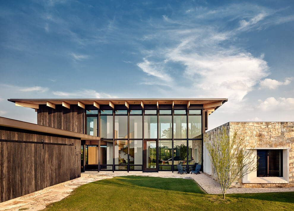 Texas Residence By Michael Hsu Architects Amp Laura Roberts