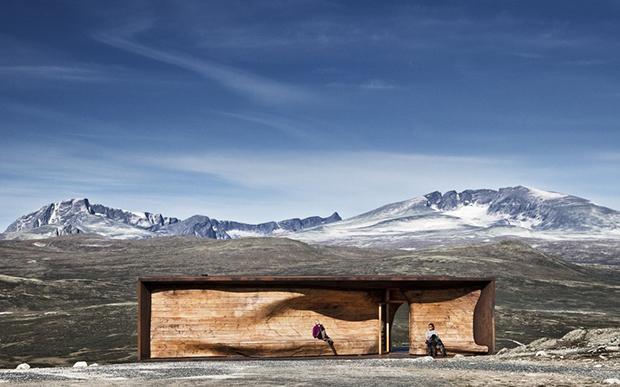 Tverrfjellhytta, Norwegian Wild Reindeer Pavilion – Snøhetta (1)
