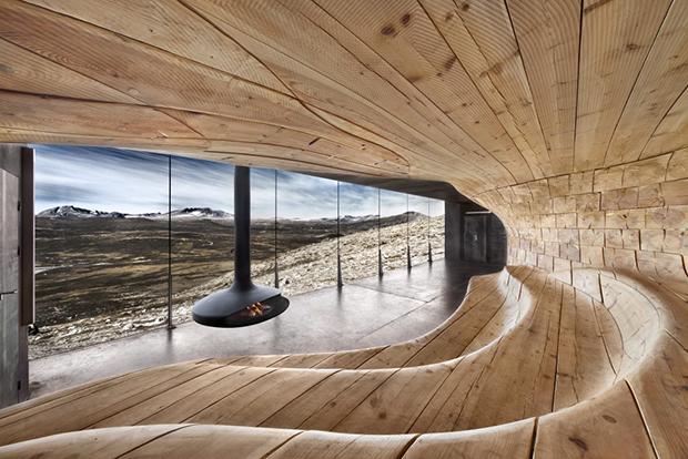 Tverrfjellhytta, Norwegian Wild Reindeer Pavilion – Snøhetta (2)