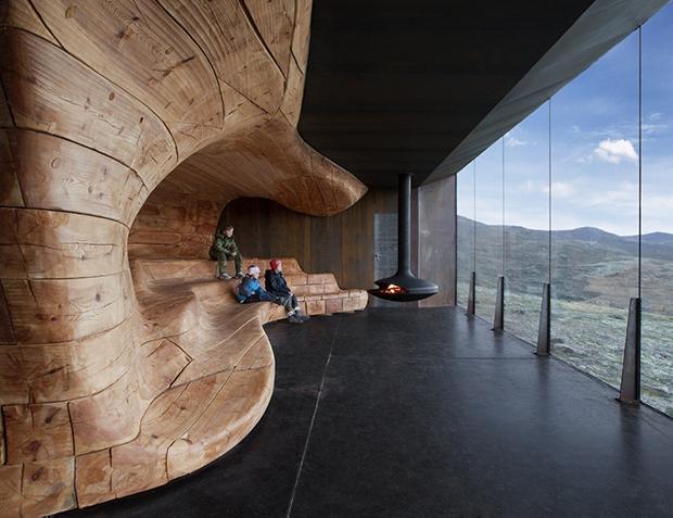 Tverrfjellhytta, Norwegian Wild Reindeer Pavilion – Snøhetta (6)