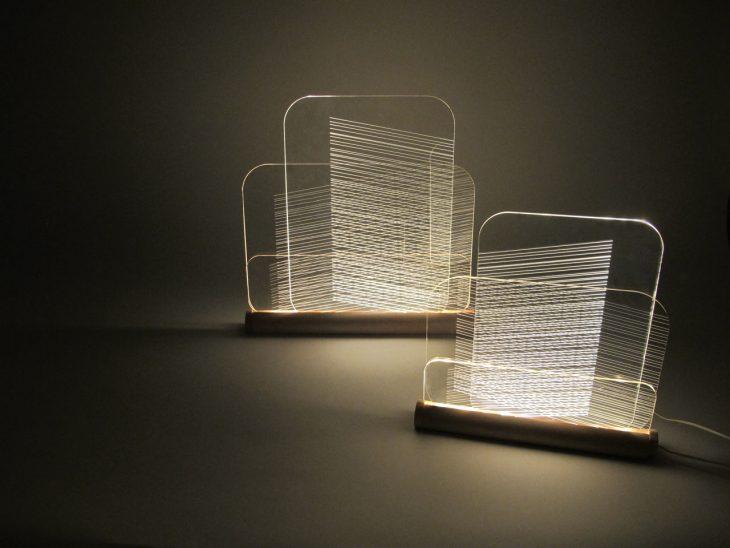 Hide & Seek Lamps by Félicie Eymard