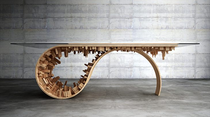 Wave City Dining Table  (1)