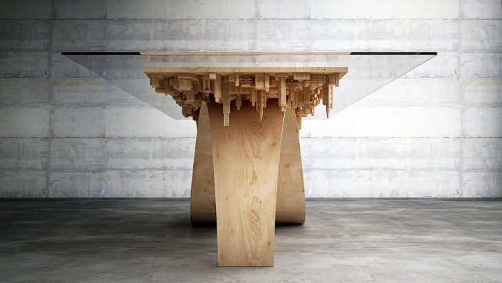 Wave City Dining Table  (2)