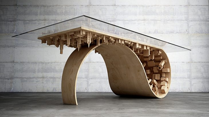 Wave City Dining Table  (4)