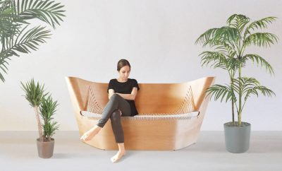 Wing Sofa by Ákos Huber