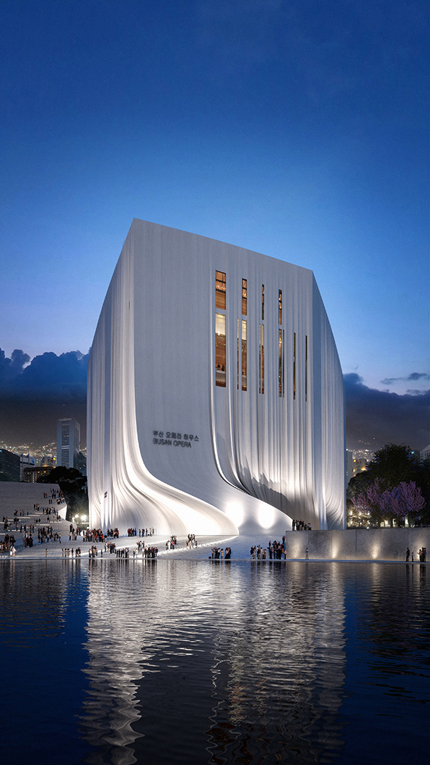 Busan Opera House By Moh Architects Archiscene Your