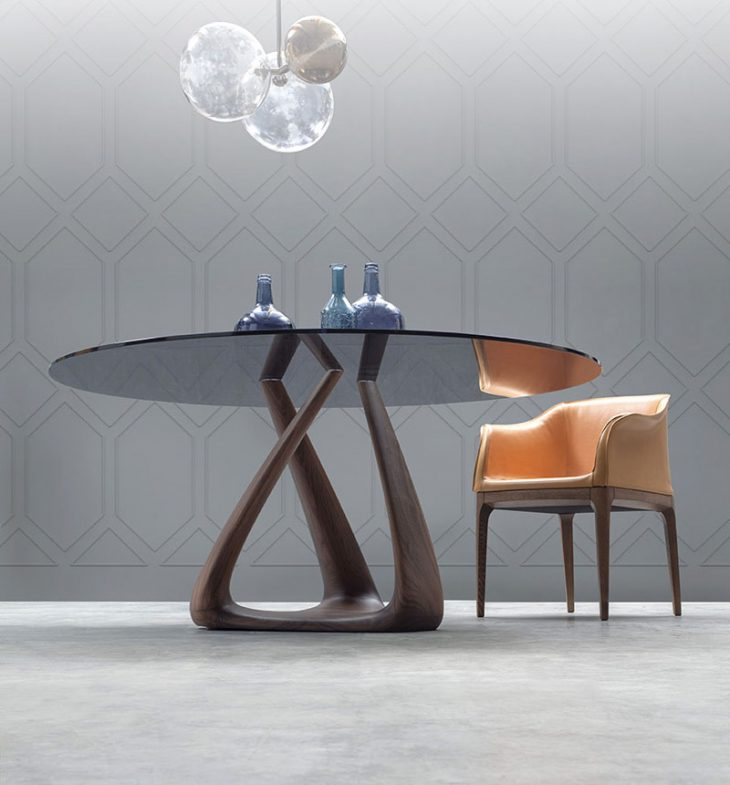 Glass Top Dinning Table (2)