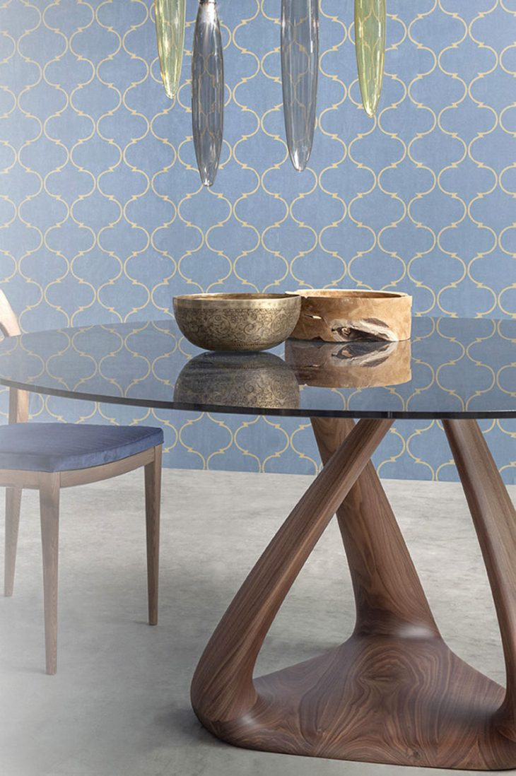 Glass Top Dinning Table (3)