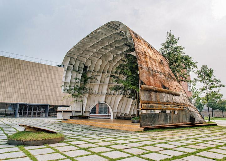 National museum of modern and contemporary art pavillon by - Pavillon residentiel moderne gurney architecte ...