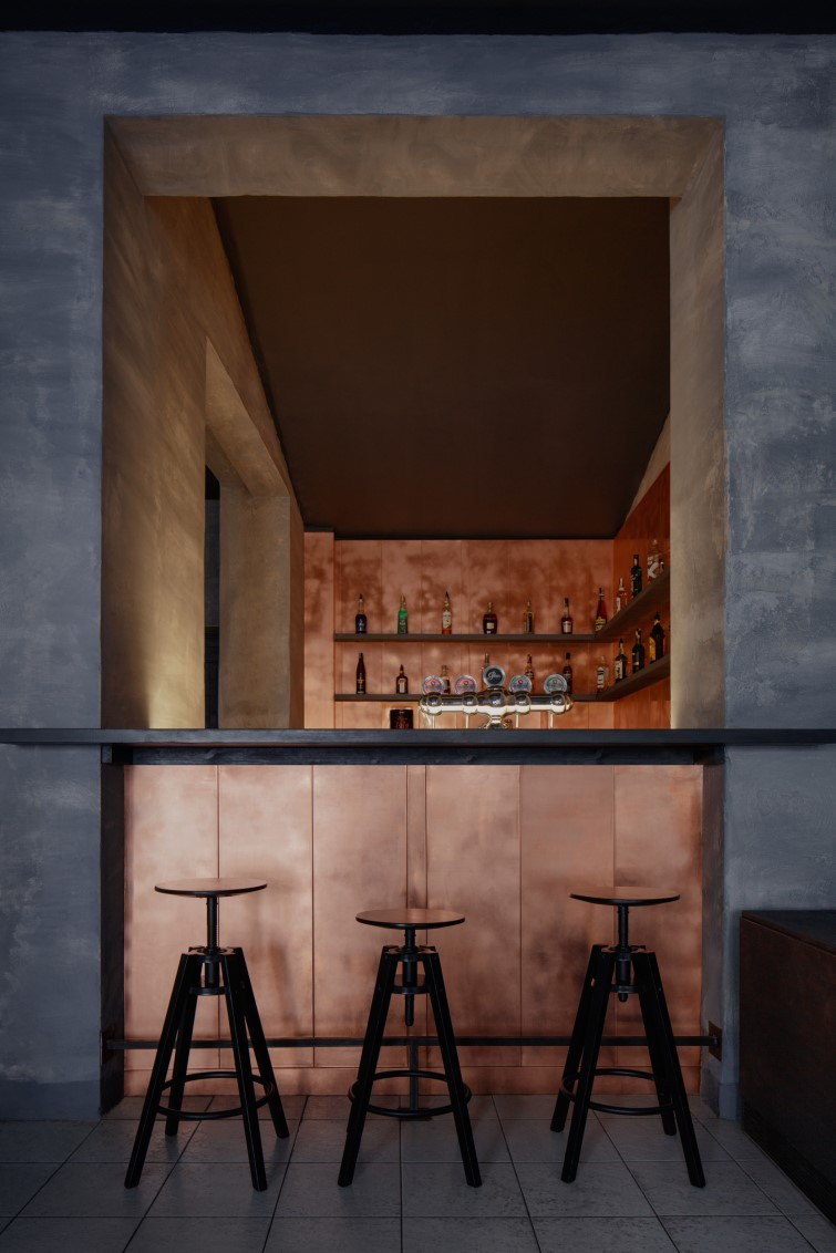Copper Bar By Zavoral Architekt Archiscene Your Daily