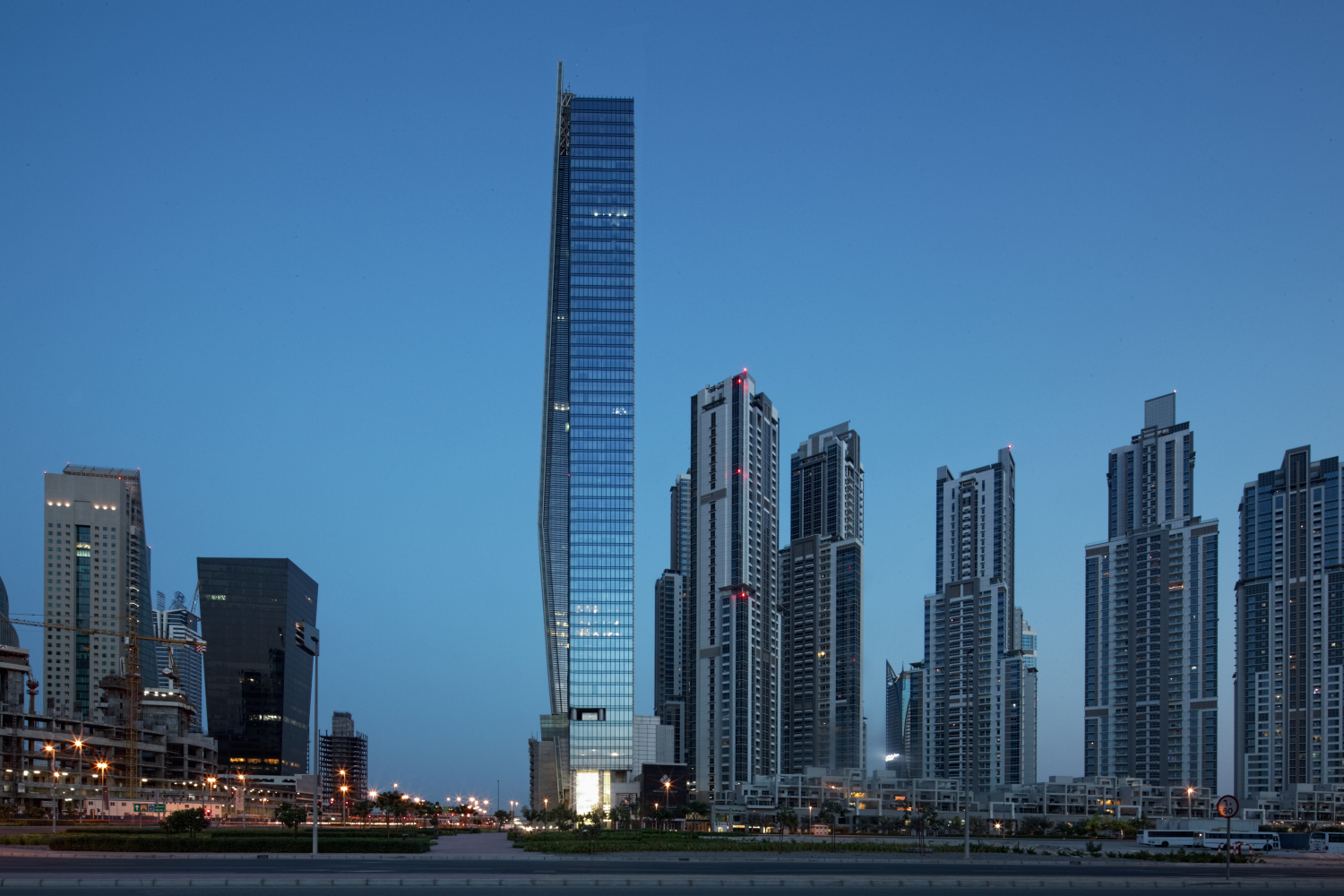 Vision Tower At Business Bay By Tvsdesign Archiscene