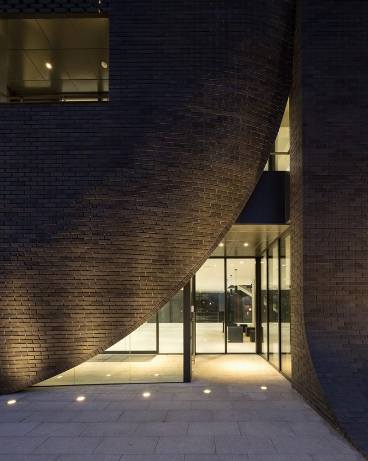 Mu M Office Building By Wise Architecture Archiscene
