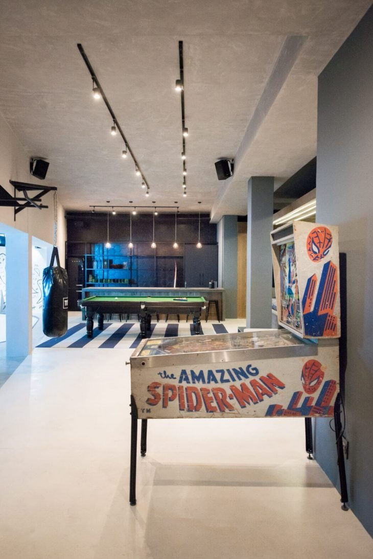 Man Cave Daily : Man cave by inhouse brand architects archiscene your