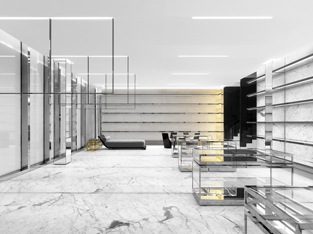 saint laurent store in the miami design district