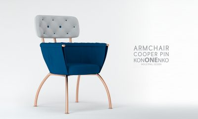 Cooper Pin Chair by Julia Kononenko