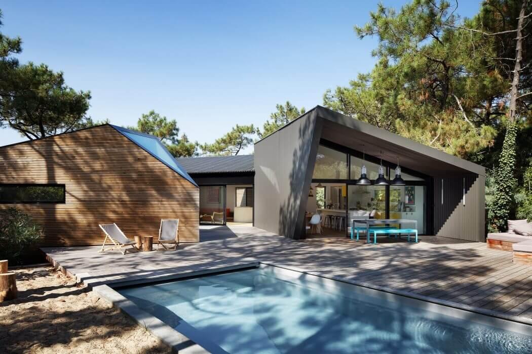 Cabane au cap ferret by atelier du pont archiscene your daily architectur - Maison bois cap ferret ...