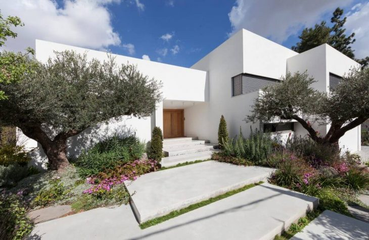 Massive Renovation Work On A House In Saviyon, Including Enlargement Of The  Openings/doors, Addition Of Spaces, A New Internal Division That Was  Precisely ...