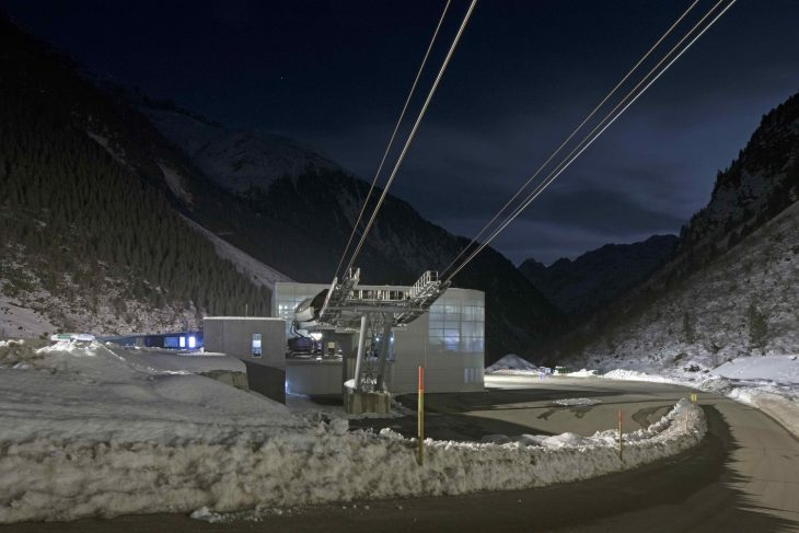 3s Eisgratbahn Gondola Lift At Stubai Glacier By Ao